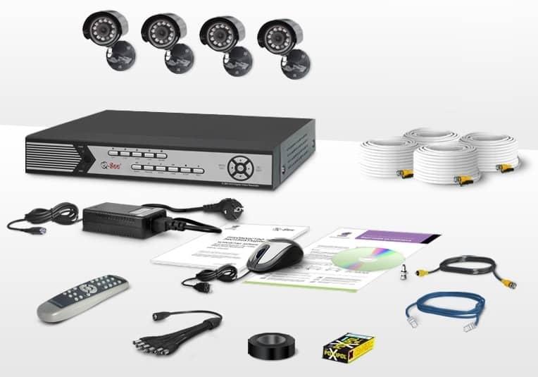 комплект видеонаблюдения ucontrol