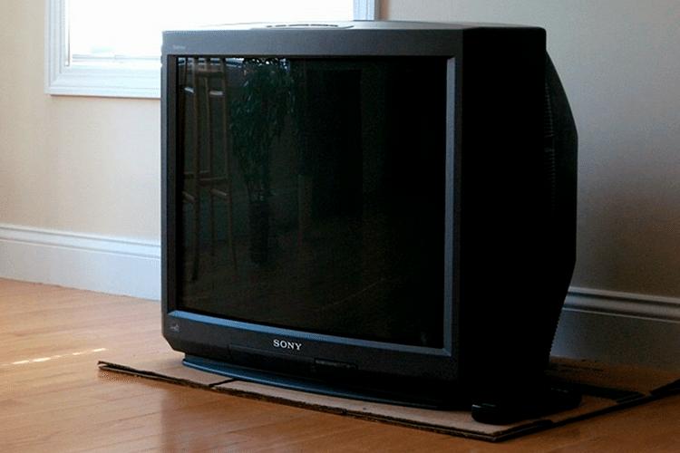 аналоговый телевизор