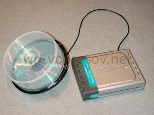 Антенна wifi из бокса с CD
