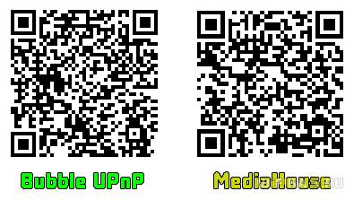 qr dlna android