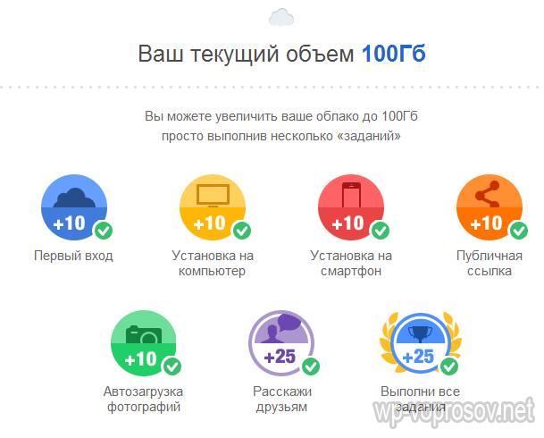 100 gb места на диске