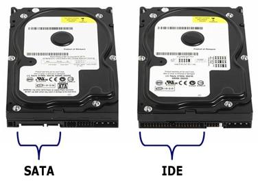 Интерфейсы жесткого диска - SATA и IDE