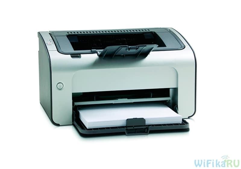 подключение принтера к компьютеру по wifi