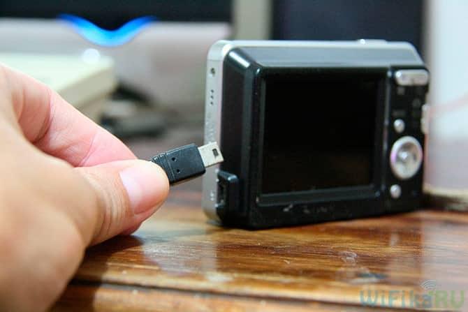 Как подключить фотоаппарат вместо веб камеры