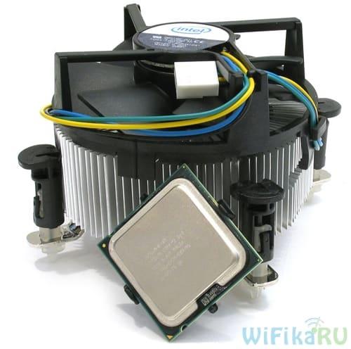 охлаждение процессора box