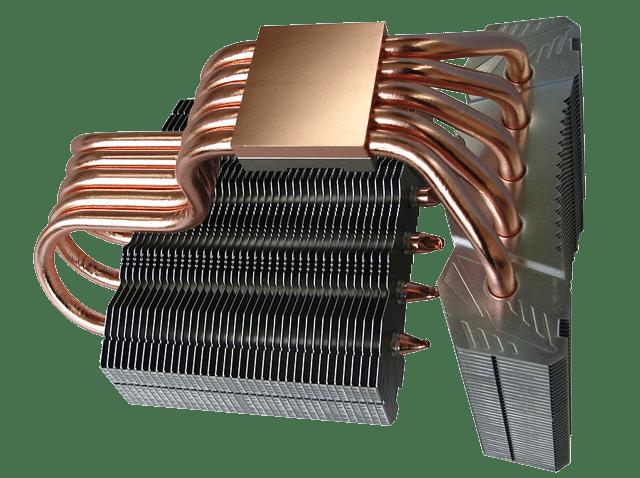 радиатор кулера процессора