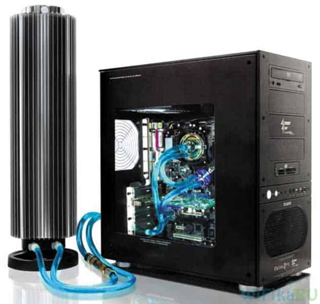 водяное охлаждение процессора