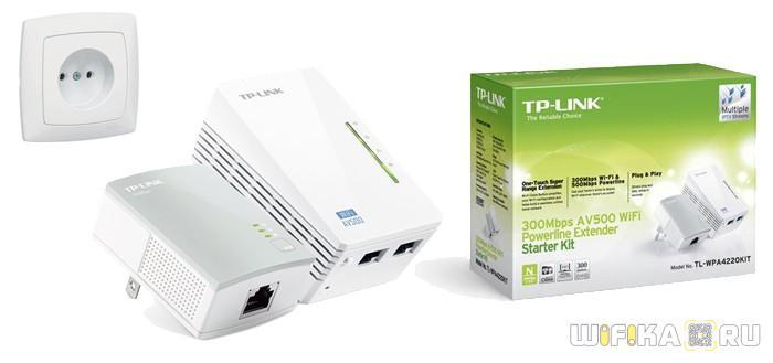 tplink TL WPA4220 powerline Kit