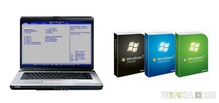 windows 7 na notebook