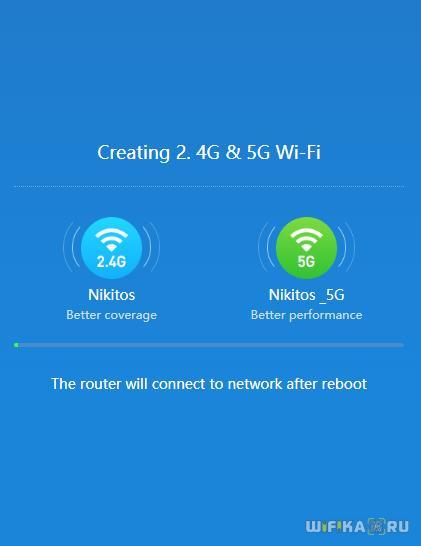 создание новой сети