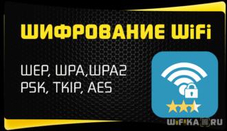 типы шифрования wifi сети