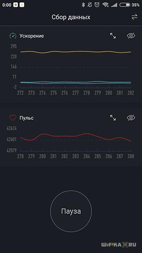 статистика тренировки xiaomi mi band 2