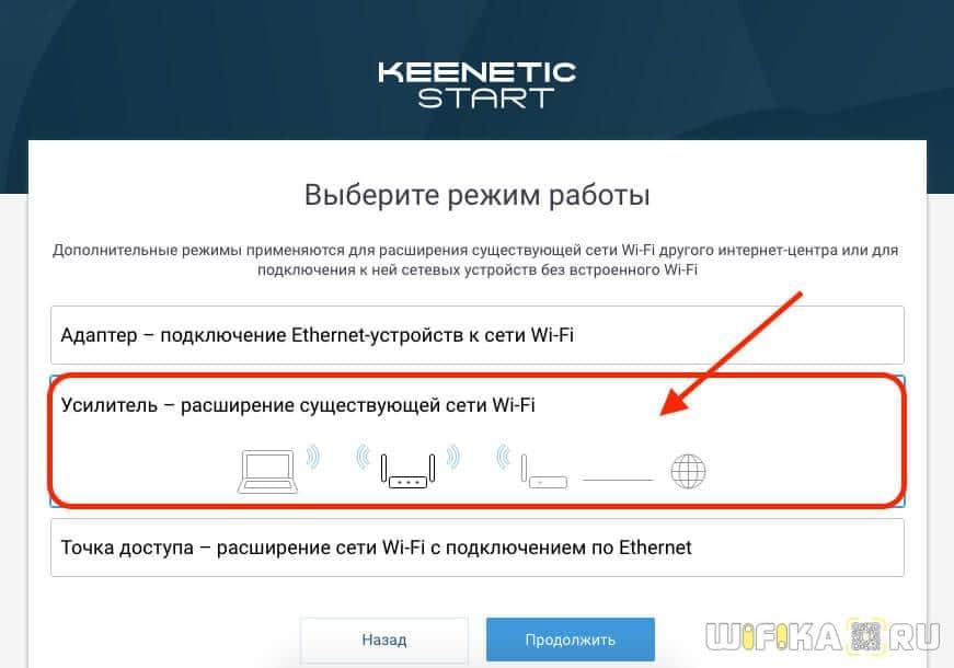 keenetic усилитель wifi