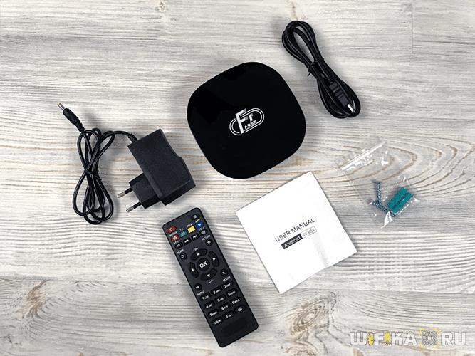 комплект A95X F1 Smart TV Box