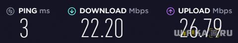 скорость мобильного интернета