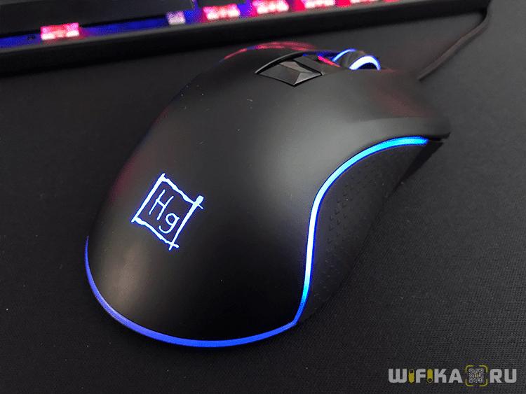 игровая оптическая мышь