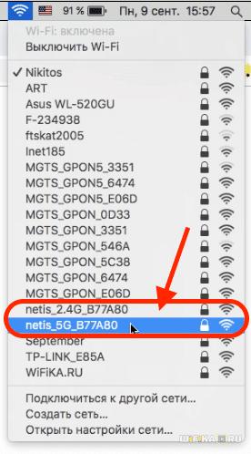 wifi сеть netis