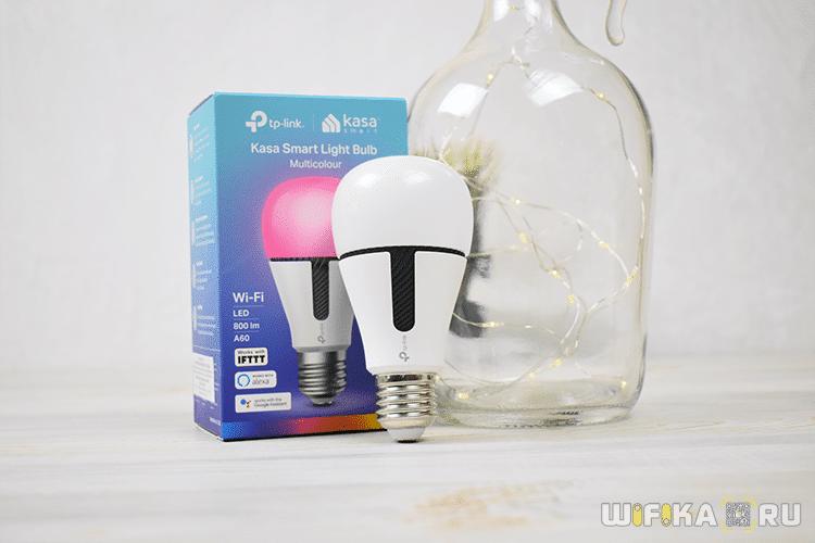 умная лампа tp-link