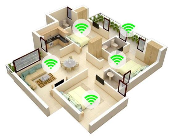 бесшовная сеть wifi