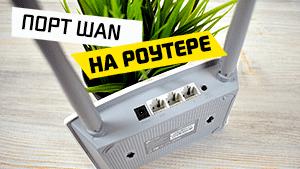 ПОРТ wan