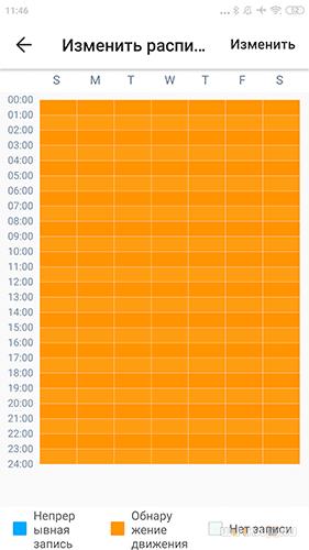 расписание записи