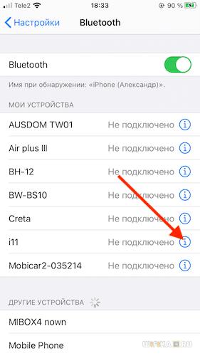 синхронизация i11 tws